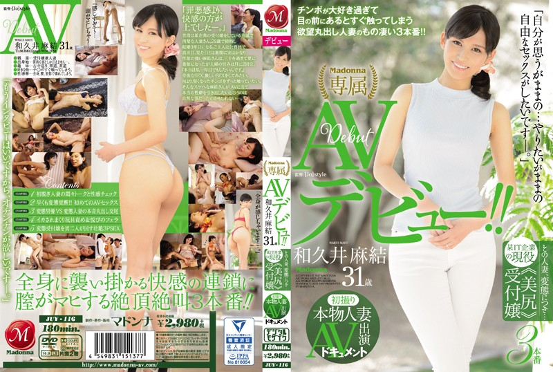 JUY-116 Real Married Woman's First Time Shots – AV Documentary – This Wife Is Naughty… Famous