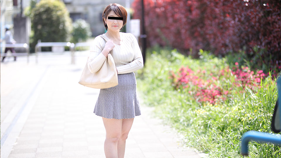Pacopacomama 040419_064 Yayoi Yamamoto Aunty Po -The plump body of the fifty mature woman-